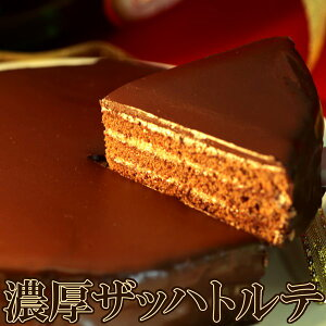 ザッハトルテ 濃厚 チョコレートケーキ チョコレート チョコ 冷凍
