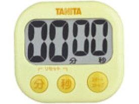 TANITA(タニタ) デジタルタイマー でか見えタイマー イエロー TD-384-YL(キッチンタイマー/クッキングタイマー/調理用/料理)