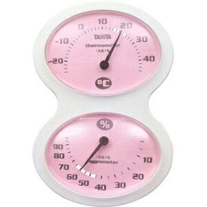タニタ tanita 温湿度計 ピンク TT-509-PK
