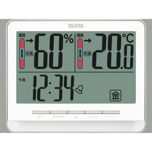 タニタ tanita デジタル温湿度計 ホワイト TT-538-WH