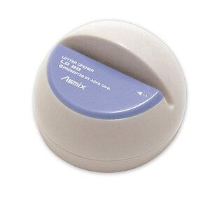 アスカ 電動レターオープナー ブルー LO80B 手で持っても開封しやすいドーム型電動レターオープナー