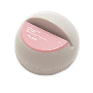アスカ 電動レターオープナー ピンク LO80P 手で持っても開封しやすいドーム型電動レターオープナー