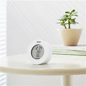 温湿度計 デジタル 温度計 湿度計 タニタ 置き マグネット式 インテリアサーモ ホワイト