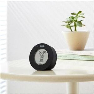 温湿度計 デジタル 温度計 湿度計 タニタ 置き マグネット式 インテリアサーモ ブラック