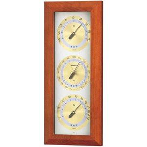 エンペックス アトモス気象計 BM-727 気圧計 温度計 湿度計 EMPEX 温湿度計 壁掛け