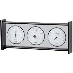 エンペックス スーパーEXギャラリー気象計 EX-796 気圧計 温度計 湿度計 時計 置時計 機能的でシンプルなデザイン・インテリアに最適!