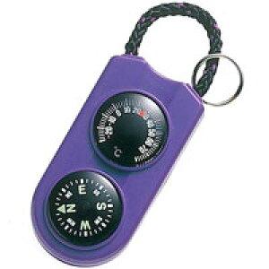 エンペックス サーモ&コンパス FG-5126 パープル 温度計&コンパス 温度計とコンパスが一体型になったサーモ&コンパス