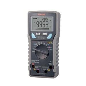 高確度・高分解能(パソコン接続)デジタルマルチメータ 三和電気計器 PC-700(電流計/電圧計/周波数/チェック/チェッカー/デュアル表示/高速応答バーグラフ/ホールド機能)