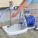 蛇口3又コネクター シャワー付き 水道口 ハンドル 部品 ホースリール接続 ホウス 分岐