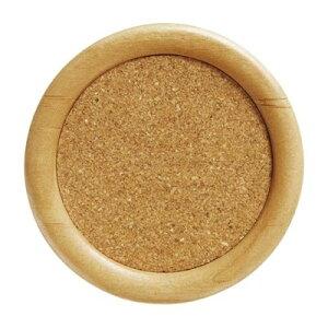 ウッドコースター 木製/コルク 丸型