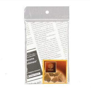 お菓子袋 詰め合わせ用ポリ袋 マチ付き 紙製 ニュースペーパー Mサイズ 4枚入 ラフィネ 手作り製菓グッズ