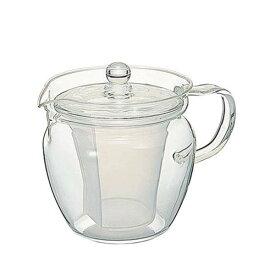 ハリオ ティーポット 耐熱ガラス 急須 茶茶なつめ 360ml 2人用