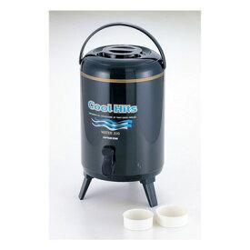 クールヒッツ ウォータージャグ 10L 保冷・保温 ネイビー(ウォーターキーパー/ウォータータンク/ウォーターサーバー/温かい/冷たい)