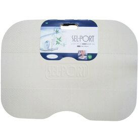 浴室マット シャワーマット ニューセルポート アイボリー(お風呂マット/浴室マット/スノコ/抗菌/防カビ/足元/寒さ対策)