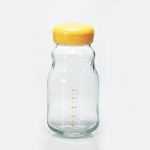 我が家のかくし味 たれ編(大)イエロー(調味料/保存/作成/保存容器/調味料入れ/自家製/タレ/ドレッシング/保存瓶)