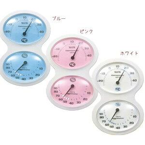 タニタ tanita 温湿度計 全3色 TT-509 (ブルー・ピンク・ホワイト)