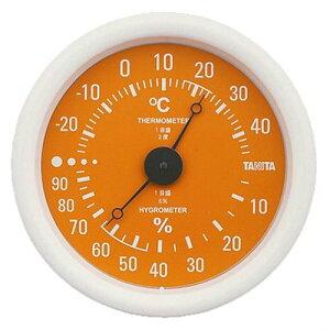 タニタ tanita 温湿度計 オレンジ TT-515OR