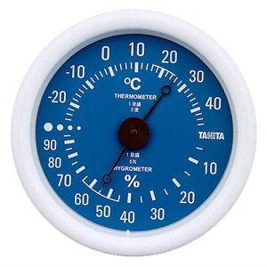 タニタ tanita 温湿度計 ブルー TT-515BL