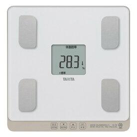 体組成計 体重計 タニタ デジタル パールホワイト 体脂肪計付き 内臓脂肪