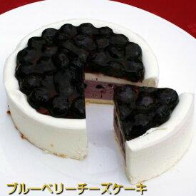[完全受注生産]ブルーベリー チーズケーキ 皇室御用達・有機JAS認証ブルーベリーたっぷり濃厚チーズケーキ