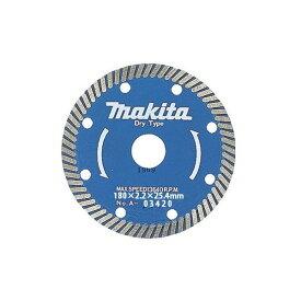 ネコポス可 マキタ 波型 ダイヤモンドホイール 外径180mm A-03420 適正記号F makita ★