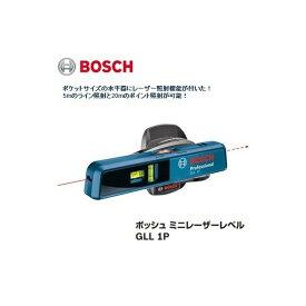 在庫有 ボッシュ ミニレーザーレベル ポケットサイズの水平器にレーザー照射機能付 GLL1P BOSCH ★