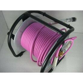 【当店オリジナル】マッハ 高圧ドラム PKD-530C 超ソフト高圧ホース付 ピンク ★