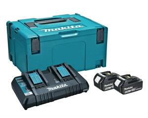 マキタ パワーソースキット1 A-61226 バッテリBL1860Bx2本+2口急速充電器DC18RD+マックパック タイプ3のセット品 18V対応 makita ★