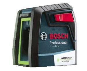 在庫有 ボッシュ クロスラインレーザー GLL30G キャリングケース付 視認性の良いグリーン 高さ72x幅71x奥行き55mm ダイレクトグリーンレーザー採用 水平・垂直 BOSCH