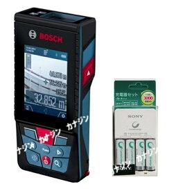 ボッシュ データ転送レーザー距離計 GLM150CJ 充電池・充電器セット 測定ポイントを画像で確認 屋外測定もカンタン BOSCH