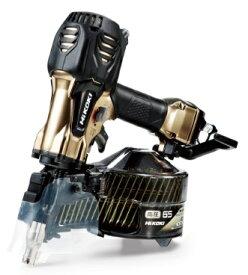 期間限定 HiKOKI 高圧ロール釘打機 NV65HR2(S) ケース付 ハイゴールド パワー切替機構付 質量2.1kg 楽々調整で思い通りの打込み 工機ホールディングス ハイコーキ 日立