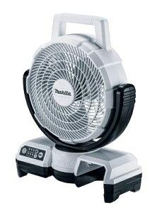 マキタ 充電式ファン CF202DZW 白 本体のみ 扇風機 AC100V使用可能 羽根径235mm キャリングハンドル 角度調整可能 10.8Vスライド式バッテリ対応 makita
