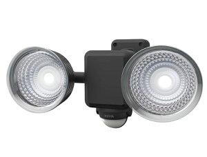 ムサシ 1.3W×2灯 フリーアーム式 LED乾電池センサーライト LED-225 ライテックス 220ルーメン LED寿命約40000時間 musashi ポイントUP期間中!!