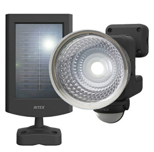 ムサシ 1.3W×1灯 フリーアーム式 LEDソーラーセンサーライト S-15L ライテックス 110ルーメン LED寿命約40000時間 musashi ポイントUP期間中!!