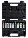 トップ工業 電動ドリル用 アルファソケットセット 11本組 EDX-824AS ケース付 αソケットセット シャンク圧入式 重量1…