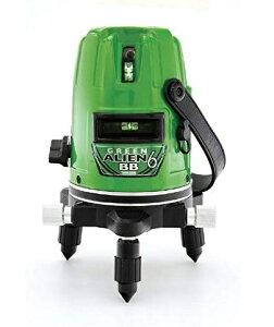 山真製鋸 グリーンレーザー墨出し器 GA-06BB エイリアンBB 単3電池&AC電源の2電源方式 6ライン(4方向大矩照射) YAMASHIN
