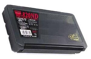 メイホー タックルボックス 明邦化学 ツールケース VS-820ND スモークBK サイズ233x127x34mm 可変仕切板12枚付 ワンタッチ式止具 MEIHO バーサス VERSUS