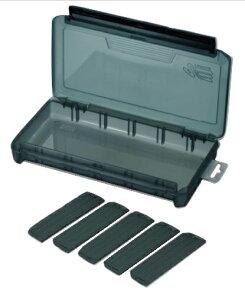 メイホー タックルボックス 明邦化学 ツールケース マルチ VS-820NDM スモークBK サイズ233x127x34mm 可変仕切板5枚付 ワンタッチ式止具 MEIHO バーサス VERSUS
