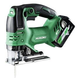 当店限定品 電池1個サービスキャンペーン HiKOKI コードレスジグソー CJ36DA(XP) フルセット品 オートモード機能付 マルチボルトシリーズ 36V対応 ハイコーキ 日立
