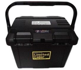 限定カラー リングスター 大型工具箱 ドカット D-4700 BK 黒ハンドル ブラック 真黒 黒バックル LimitedColorステッカー 465x333x322mm 重量2.6kg 容量約27L