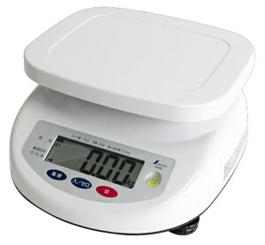 シンワ デジタル上皿はかり 15kg 取引証明用 70193 検定証印付 文字高30mmで大きく見やすい液晶 バックライト機能付