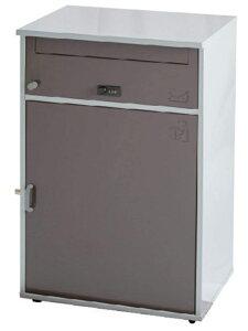 直送・代引不可 KGY工業 宅配ボックス リシム ワイド THB-276 BR ブラウン 盗難防止金具1ヶ所 本体サイズH760xW410xD325mm 本体重量約14.5kg 大型商品