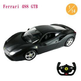ラジコンカー フェラーリ 488 GTB 1/14 ブラック 電動 RC