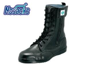 安全靴 レディース対応サイズあり ノサックス みやじま鳶(長編上) M207 ブーツ 高所用安全靴 軽量 高所用 女性 半長靴 編み上げ ワークシューズ セーフティーシューズ セーフティシューズ 作