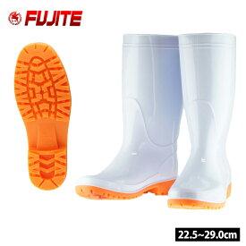 長靴 富士手袋工業 フットセイバー衛生長 白耐油 T-8881
