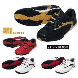 安全靴 喜多 VIGOR MK-5020 セーフティーシューズ セーフティースニーカー 安全スニーカー 作業靴 ワークシューズ 大きいサイズ マジックテープ