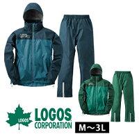LOGOS ロゴス レインウェア バックパックレインスーツアディ28734
