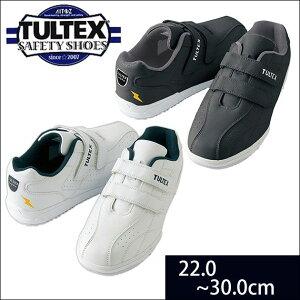 安全靴 タルテックス レディース メンズ マジックテープ 軽量 白底 3E 4E JSAA 耐滑 耐油 制電 静電 先芯 鉄芯 女性 作業靴 セーフティーシューズ おしゃれ 防災 避難グッズ / TULTEX タルテックス