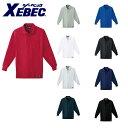 作業服 作業着 ワークウェア XEBEC ジーベック 作業服 長袖ポロシャツ 6121