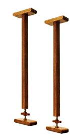 浅香工業 金象印 耐震用 木製つっぱりポール Lサイズ 2本セットで 使用高さ範囲:550〜670mm